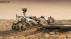 Awesome Girls: Space Exploration - Mars to the Stars for grades 6 to 12 - 1333555 Mars Mission, Curiosity Rover, Curiosity Mars, Sonda Curiosity, Mars Landing, Life On Mars, Deep Space, Space Travel, Space Exploration