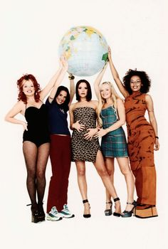 spice up your life! touring with your girls seems like the perfect road trip, don't you think?