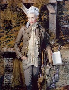 Mona Johannesson   Vogue Spain October 2006