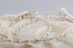 Στέφανα | VOURLOS CONFETTI | Γάμος & Βάπτιση | Μπομπονιέρες - Προσκλητήρια - Κουφέτα Wedding Crowns, Bracelets, Jewelry, Confetti, Bangles, Jewellery Making, Jewels, Jewlery, Bracelet