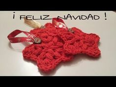 NAVIDAD / Estrella / Pouf star point - YouTube