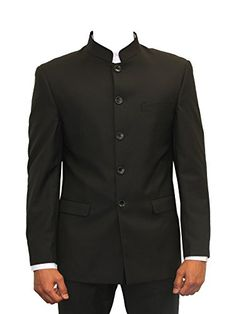 "MENS 2 PIECE NEHRU/GRANDAD COLLAR SUIT/ BEATLE STYLE IDEAL FOR WEDDINGS/PROMS (Jacket 36""-Waist 30""-Inside leg 31"", BLACK) Marc Darcy http://www.amazon.co.uk/dp/B00B8W6HVK/ref=cm_sw_r_pi_dp_7D7ovb1SF2781"