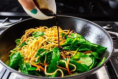 Better Than Takeout Lo Mein Recipe · i am a food blog