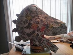 CAM00299 | Once it was dry, additional paper mache was added… | Flickr