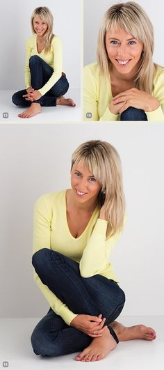 (Sitting) Posing Guide for Photographing Women: 7 More Poses to Get You 21 Different Photos [Part II]