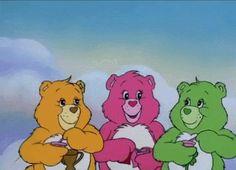 Cartoon Photo, Cartoon Gifs, Cartoon Images, Cute Cartoon, Aesthetic Movies, Aesthetic Gif, Care Bears Movie, Care Bears Vintage, Hi Babe