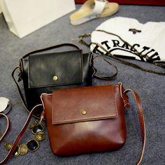 25.34$  Buy now - http://viiqj.justgood.pw/vig/item.php?t=mxi6yf8316 - Summer PU Leather Handbag For Women Casual Messenger Bags Vintage Shoulder Bag S