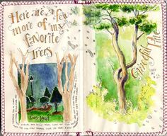 South Carolina LowCountry Nature Journaling and Art: Calligraphy