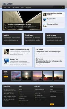 Gloss Surface WordPress Theme Review - Obox Design