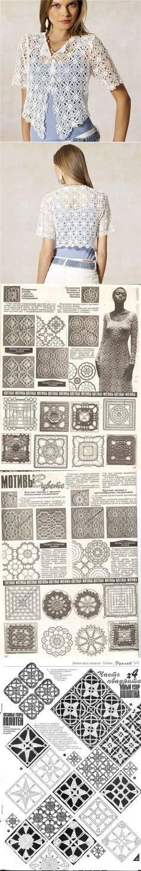 square motif / schemas...♥ Deniz ♥
