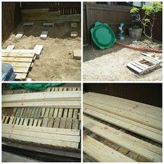 Renewed Projects: Redneck Pallet Deck