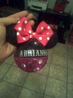 minnie mouse ornament - Minnie Mouse Christmas Ornament
