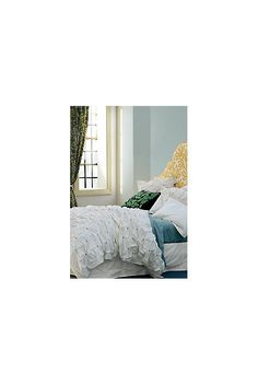 Explore Anthropologie's unique collection of New Arrivals, featuring the season's newest arrivals. Anthropologie Bedding, Origami Folding, Wooden Flowers, Euro Shams, Button Flowers, Crane, Envelope, Ivory, Buttons