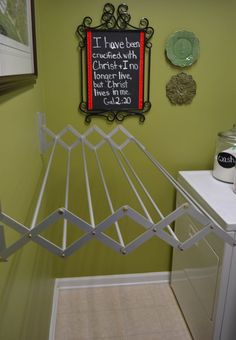 DIY Projects and Ideas for the Home Wall mount Laundry and Spaces