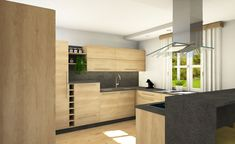 Küche mit Keramik-Arbeitsplatte Divider, Furniture, Home Decor, Timber Wood, Decoration Home, Room Decor, Home Furnishings, Home Interior Design, Room Screen