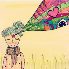Estrella, tercer ojo, colores, amor by jopi