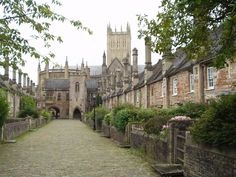 Vicars Close, Wells, Somerset ... Vicars Close is claimed to be the oldest purely residential street with its original buildings all surviving intact in Europe.