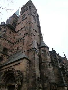 """St.Sebaldus""(Chiesa), Nurnberg Deutschland (Dicembre)"