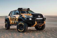 Don't confuse this glorious 4×4 as a marketing ploy by Toyota to groom the younger demographic into buying its vehicles. No, this HiLux was built to rekindle your childhood memories and love for Tonka trucks. Part rock crawler, part desert racer – full extreme off-road vehicle, the HiLux Tonka Concept is a full-size dream-come-true for adults. It's a fully drivable …