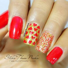 Style Those Nails: Valentine's Day Nails-2016 : Born Pretty Store Plate BP-L013 Review