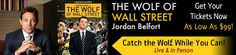 Jack Bessler: THE WOLF OF WALL STREET TOUR-GET YOUR TICKETS NOW!...