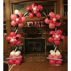 Balloon Arch, Balloons, Arches, Celebrities, Cake, Desserts, Pie Cake, Tailgate Desserts, Pastel