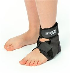 AliMed® FREEDOM® Pediatric Ankle Support is designed to offer proper support for smaller ankles. Ideal for lateral/medial ligament sprains, protective and post-operative support, and long-term management. #patients #orthopedics