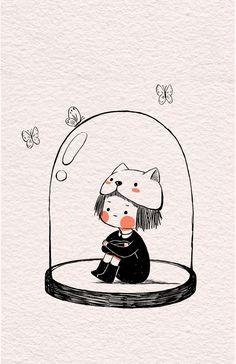 Kawaii Drawings, Cute Drawings, Kawaii Art, Kawaii Anime, Dibujos Cute, Cute Cartoon Wallpapers, Kawaii Wallpaper, Cute Gif, Cute Characters
