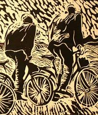 I've been obsessed with lino-cuts lately
