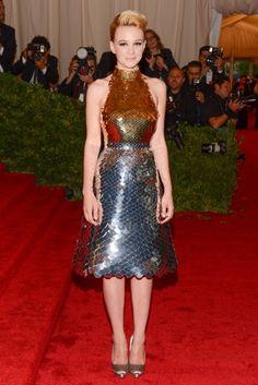 Carey Mulligan at the Met Costume Institute Gala 2012