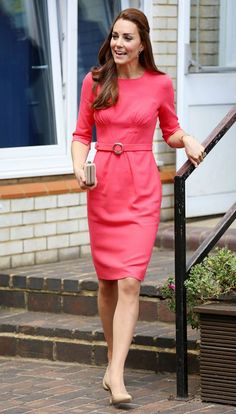 Kate Middleton in Goat during an M-PACT Plus school visit in July, 2014.