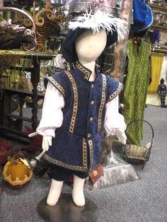 Tudor Toddler Renaissance Costume Boys 2T by MossyRoseCB on Etsy