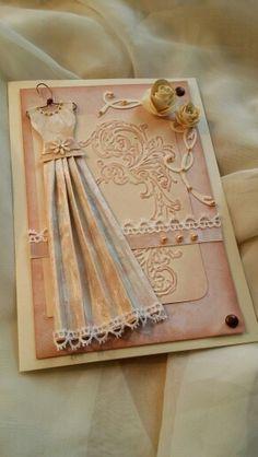 Svatební přání se šaty