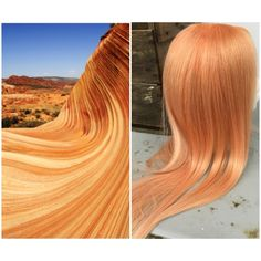 Wig Play. Color by Joseph Mullen inspired by antelope canyon