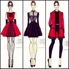 Hayden Williams for Sketch Street collection. More looks from my debut fashion range! Make sure you head to http://www.sketchstreet.com/vote.php?show=current and 'Love' the ones you want to wear!