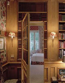 Hidden Doors and Secret Passageways are always a cool amenity to any house. Not only does provide mystery to your living quarters, but it also allows for a bit of privacy. While hidden doors may not be found in everyone's… Continue Reading → Door Design, House Design, Interior Exterior, Interior Design, Panic Rooms, Hidden Rooms, Hidden Spaces, Secret Rooms, Room Doors