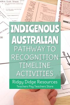Indigenous Australian Reconciliation Timeline and Activities Paragraph Writing, Opinion Writing, Persuasive Writing, Writing Rubrics, History Education, Physical Education, Teacher Resources, Teacher Pay Teachers, Naidoc Week Activities