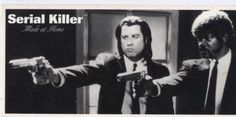 I checked out Serial Killer Pulp Fiction Sticker on Lish, $9.99 USD