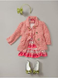 Fabulous outfit for toddler girls!