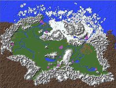Fase 11. Retoque final a zonas montañosas y borde exterior