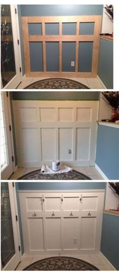 Ideas at the House: 20 Inexpensive Ways to Dress Up Your Home with Mol. diy home improvement 20 Inexpensive Ways to Dress Up Your Home with Molding Easy Home Decor, Home Projects, Interior, Home, Diy Home Improvement, Home Remodeling, Cheap Home Decor, New Homes, Home Renovation