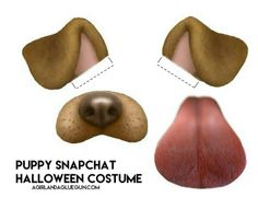 Snapchat filter–puppy costume with free printable!