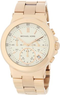 8f9baf4b994 Michael Kors Watches Michael Kors Ladies Rose Gold Chronograph (Rose Gold)  - New Time Pieces