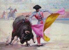 Resultado de imagen para toros de lidia pinturas