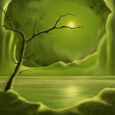 Nieuw in mijn Werk aan de Muur shop: De Groene Droom