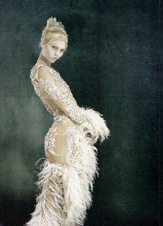 Karlie Kloss by Tim Walker for British Vogue, October 2010