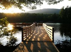 Hanging Rock State Park decided its fishing pier needed a little something extra…new fish. Rainbow trout are being introduced in the park's 12-acre lake.
