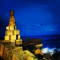 Holiday in San Benedetto del Tronto - Monument of fisherman
