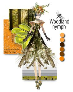 """""""The Wood Creatures"""" by dawn-lindenberg ❤ liked on Polyvore featuring art"""