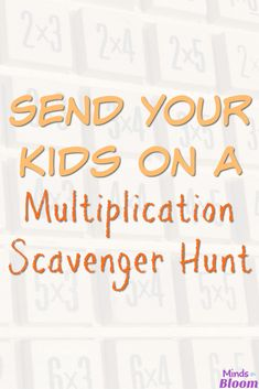 Send your students on a multiplication scavenger hunt--right in your own classroom! There are tons of things in your classroom that can be turned into multiplication problems, giving your students much-needed practice in multiplying. Check out this list o Multiplication Problems, Teaching Multiplication, Teaching Math, Teaching Tips, Multiplication Strategies, Math Problems, Fractions, Second Grade Math, 4th Grade Math